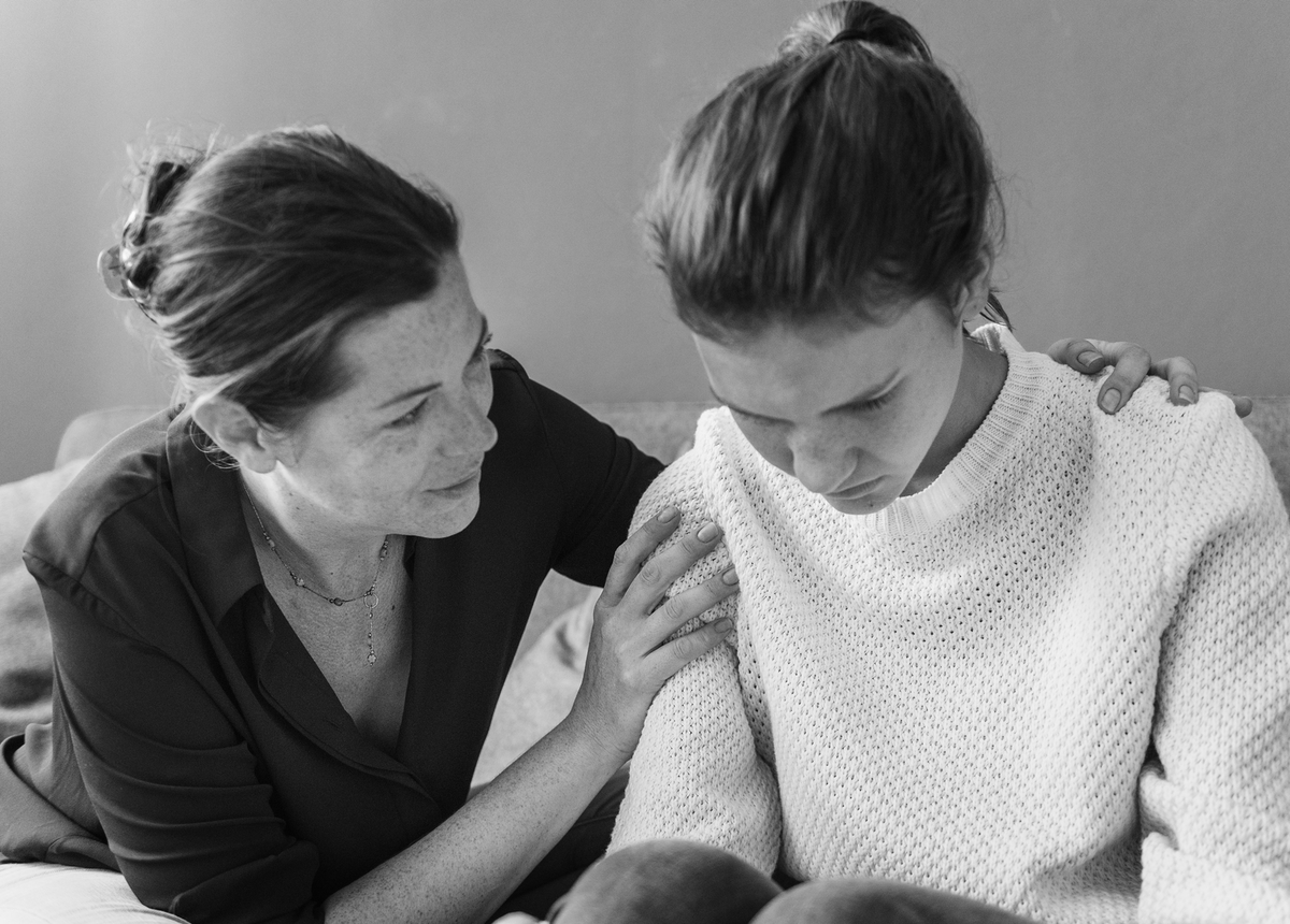Mother and Daughter mental Health